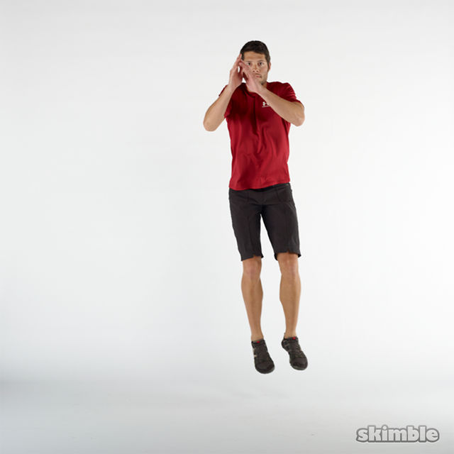 How to do: Lateral Hops to Stabilization - Step 2