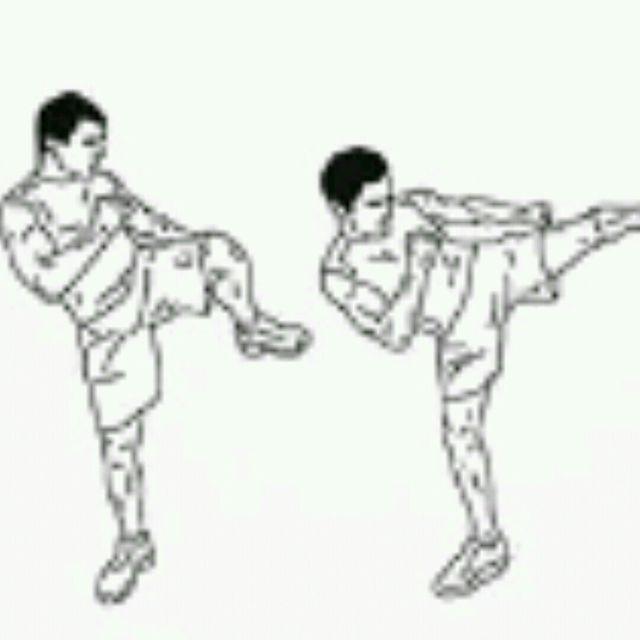 How to do: Hook Kicks - Step 1