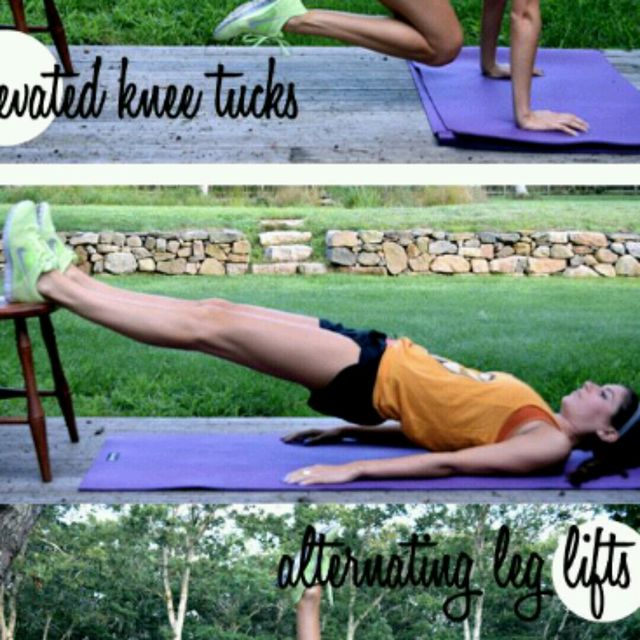 How to do: Chair Plank Back - Step 1