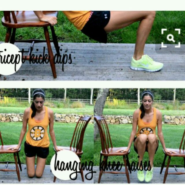 How to do: Hanging Knee Raisesd - Step 1