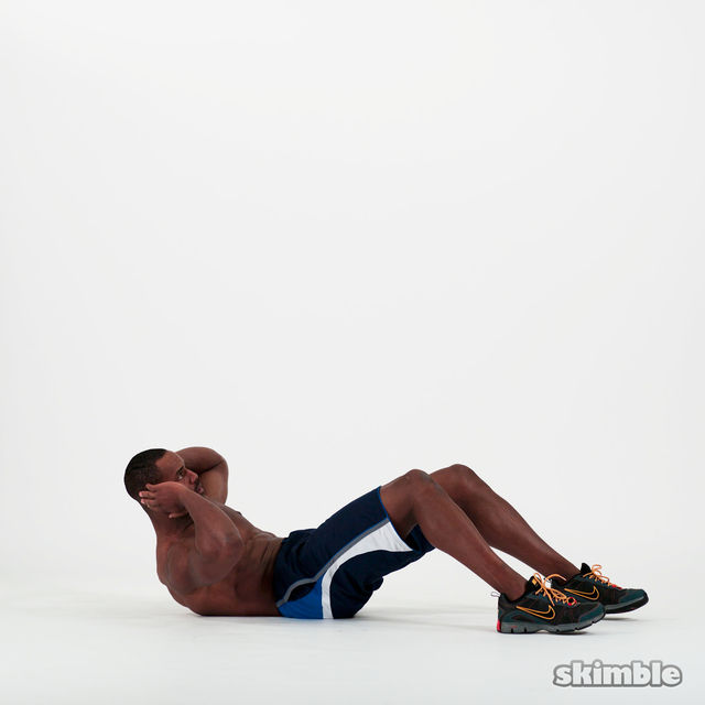 How to do: Circular Crunches - Step 5