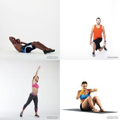 Dman and Cass workout