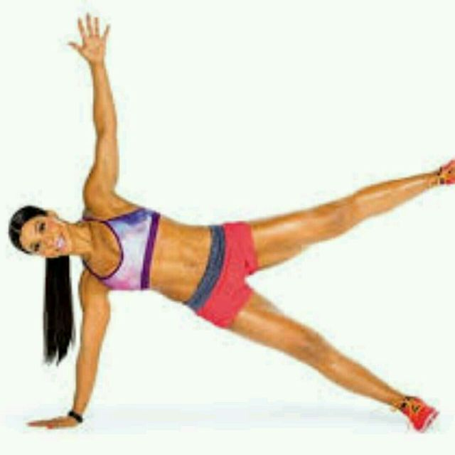How to do: Side Plank Star - Step 1