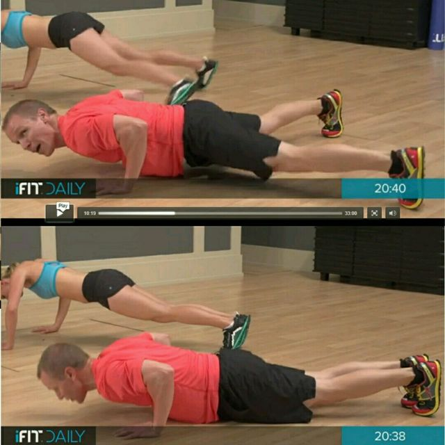 How to do: Dinamic Push Up With Plank Jacks - Step 1