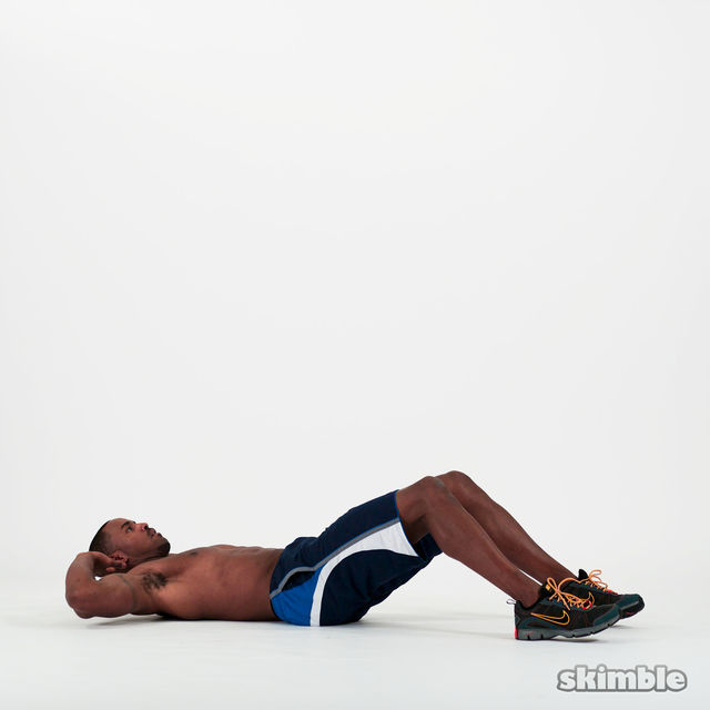 How to do: Circular Crunches - Step 1