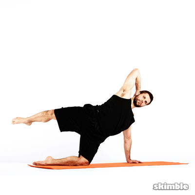 Pilates Right Side Kicks