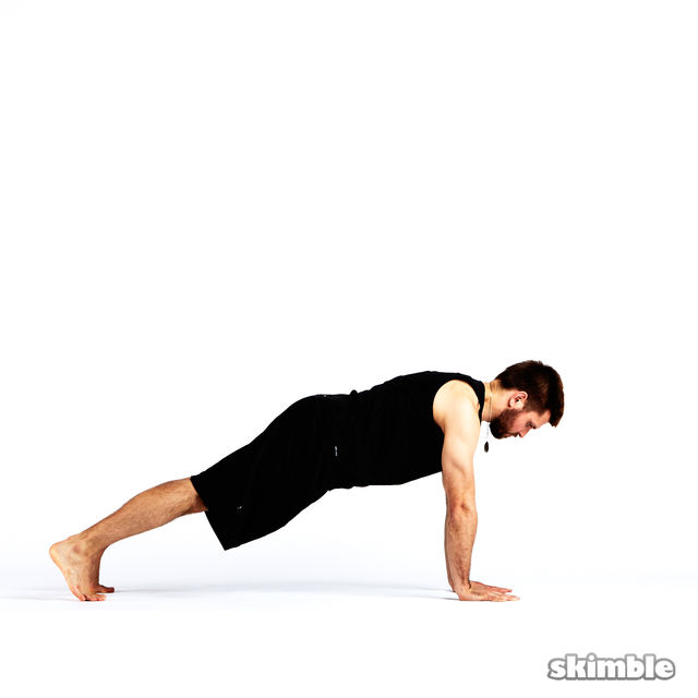 How to do: Step Through Side Plank - Step 10