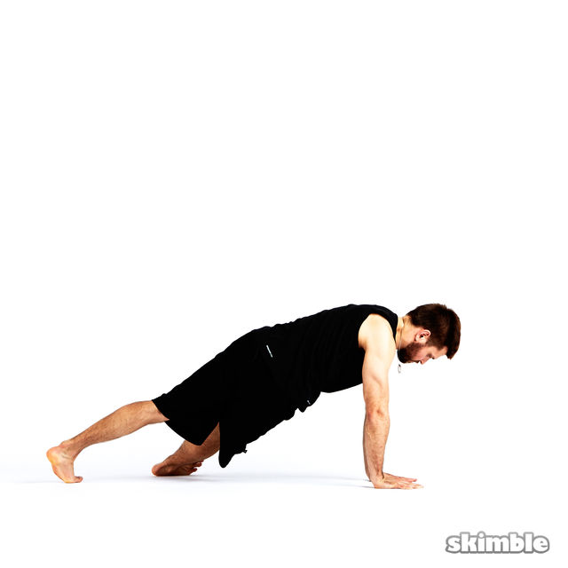 How to do: Step Through Side Plank - Step 9