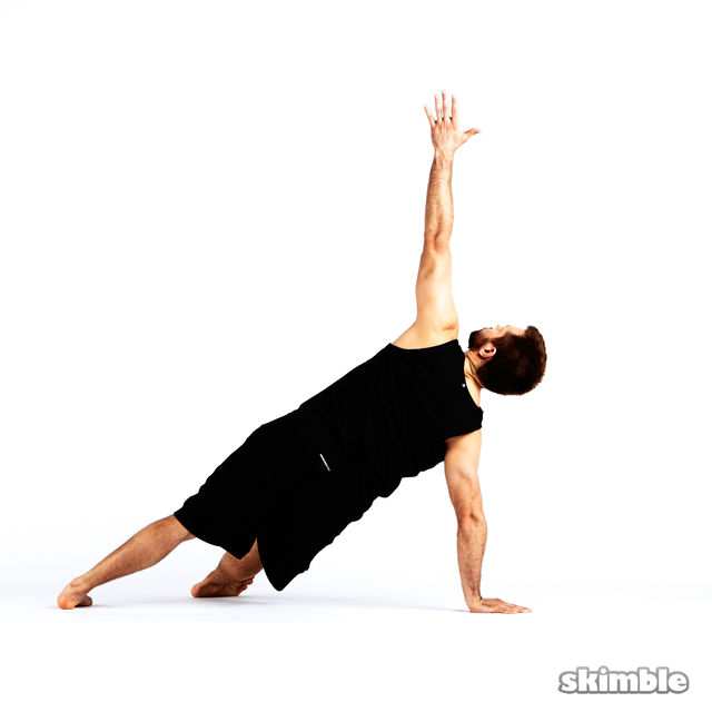 How to do: Step Through Side Plank - Step 8