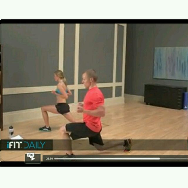 How to do: Round The Clock Lunges Version 2 - Step 3