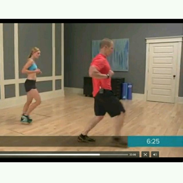 How to do: Round The Clock Lunges Version 2 - Step 5