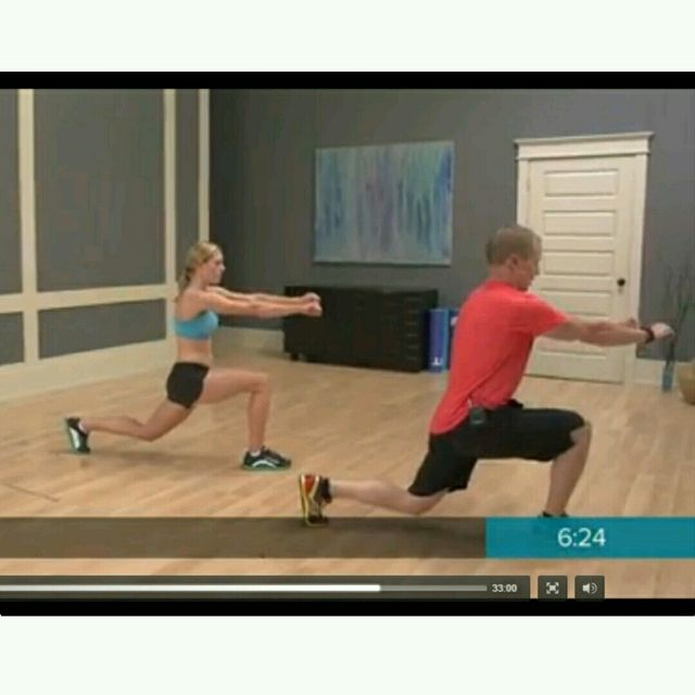 How to do: Round The Clock Lunges Version 2 - Step 6