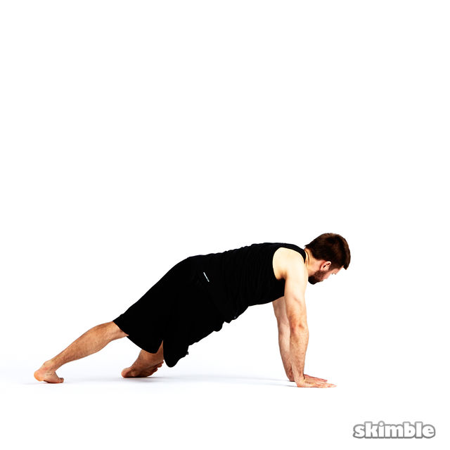 How to do: Step Through Side Plank - Step 7