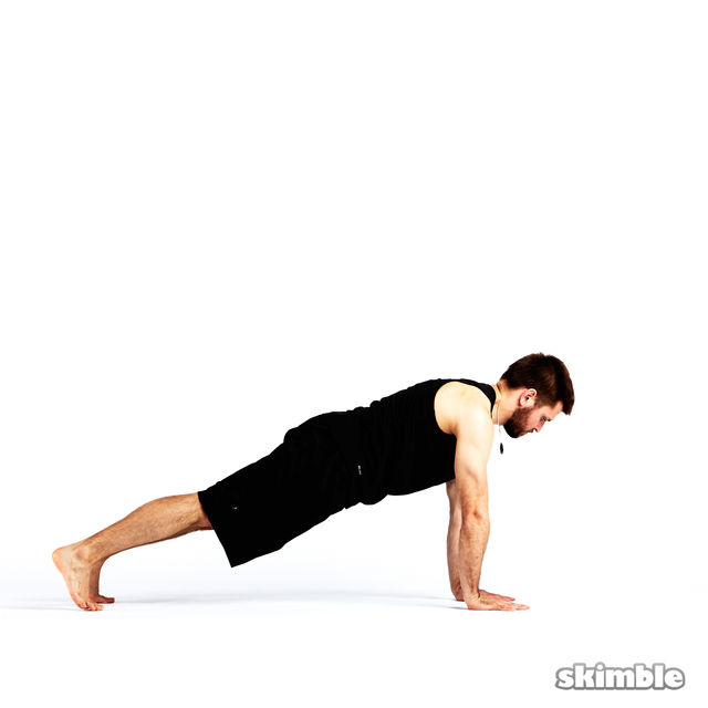 How to do: Step Through Side Plank - Step 6