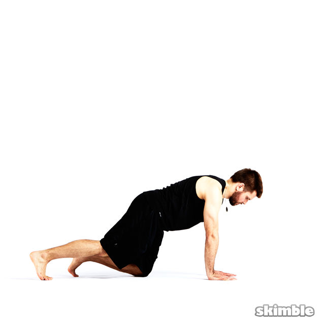 How to do: Step Through Side Plank - Step 2