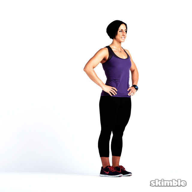 How to do: Glute Reverse Lunges - Step 9