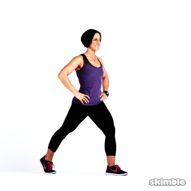 How to do: Glute Reverse Lunges - Step 4