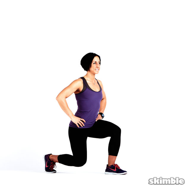 How to do: Glute Reverse Squats - Step 3