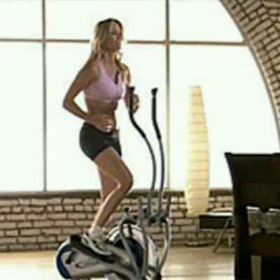 No Hands Elliptical Backwards