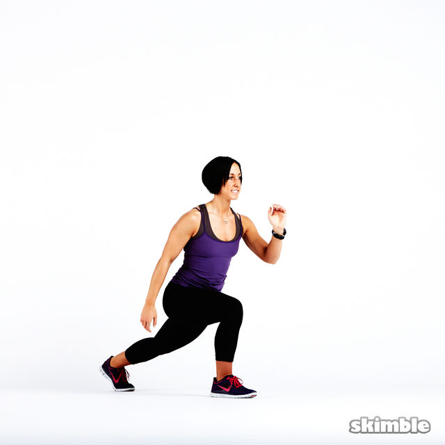 How to do: Plyo Lunges - Step 5