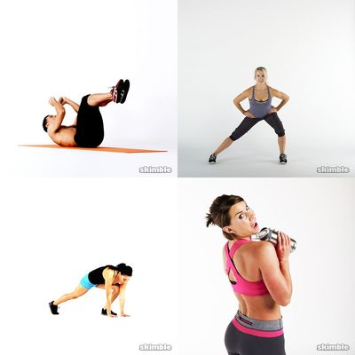 lower body and core