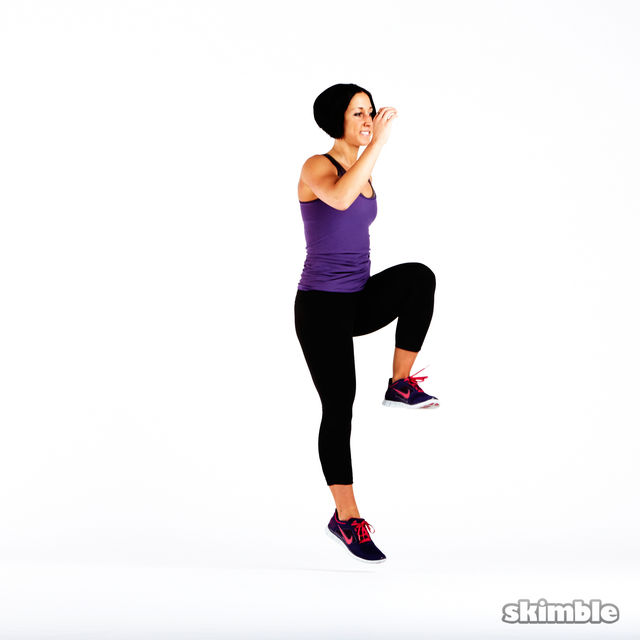 How to do: Plyo Lunges - Step 2