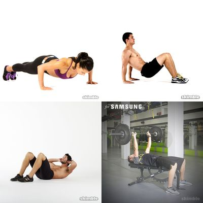 My work outs!