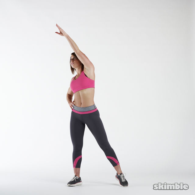 How to do: Alternating Side Reaches - Step 3