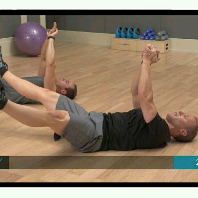 How to do: Isometric Wide Leg Raise - Step 1
