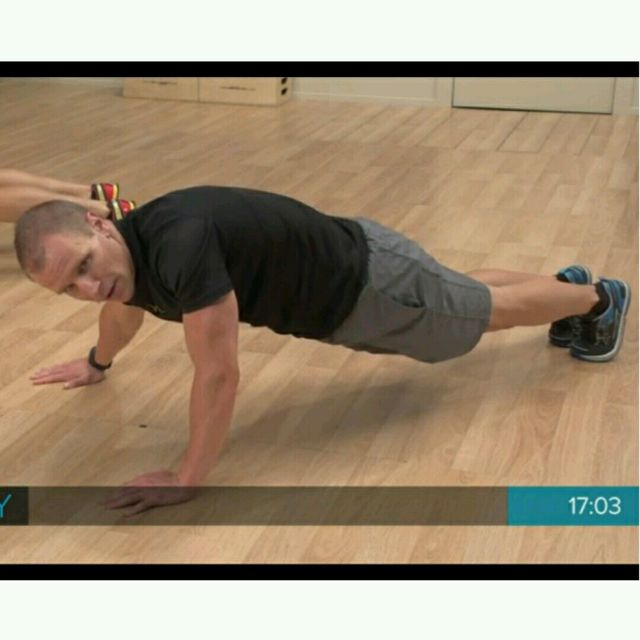 How to do: Plank With Weight Shift - Step 1