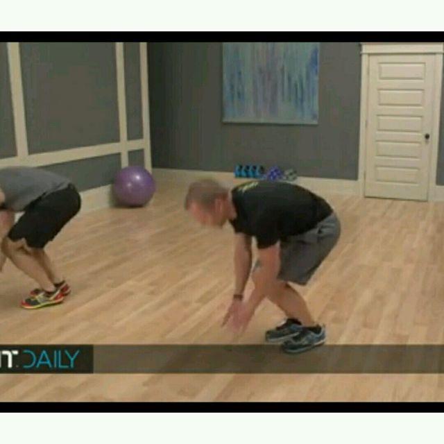 How to do: Plank Jacks Burpee - Step 1