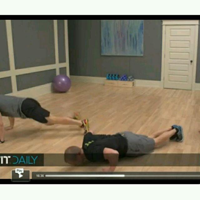 How to do: Plank Jacks Burpee - Step 2