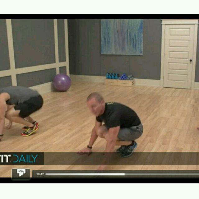 How to do: Plank Jacks Burpee - Step 5