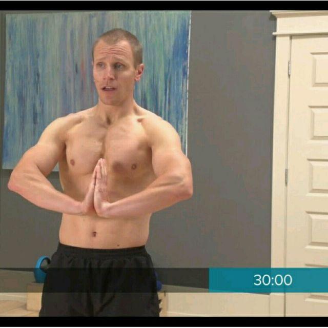 How to do: Palm To Palm Stretch - Step 1