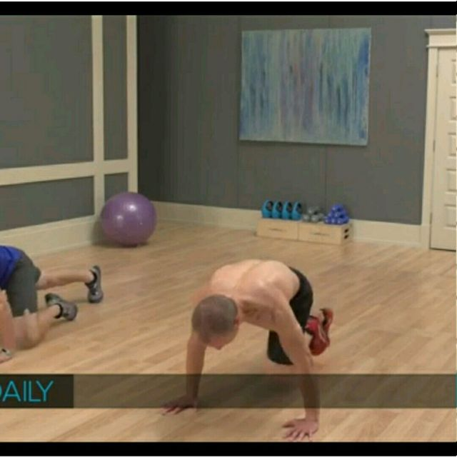 How to do: Push Up, Mountain Climbers, Jumping Jack - Step 2