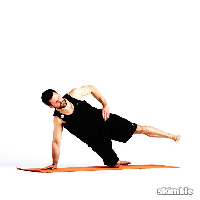 How to do: Left Low Kick Backs - Step 5