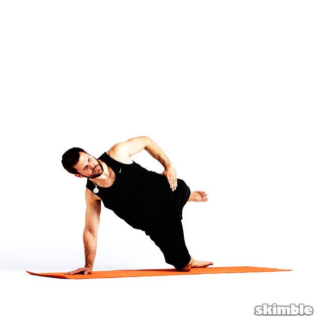 How to do: Left Low Kick Backs - Step 2