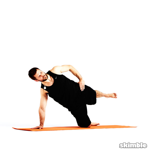 How to do: Left Low Kick Backs - Step 1