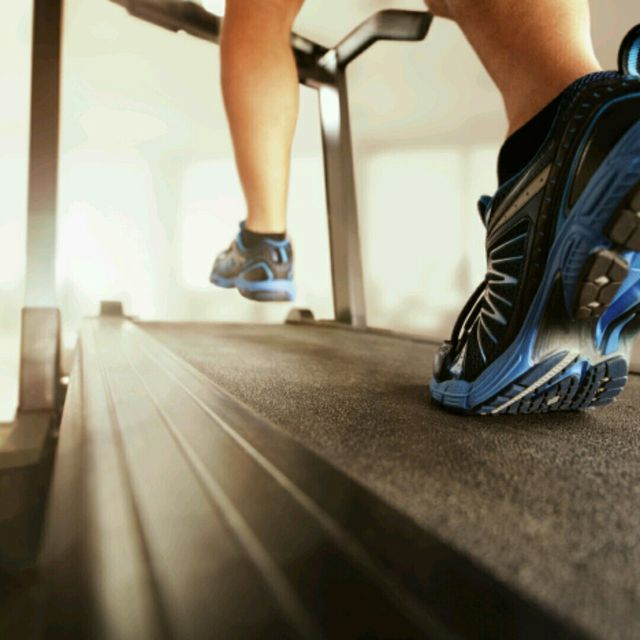 How to do: Treadmill 10 Km/h - Step 1