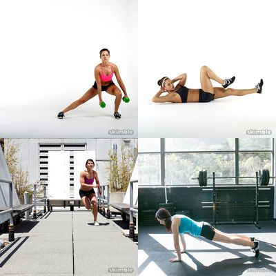 pro workouts