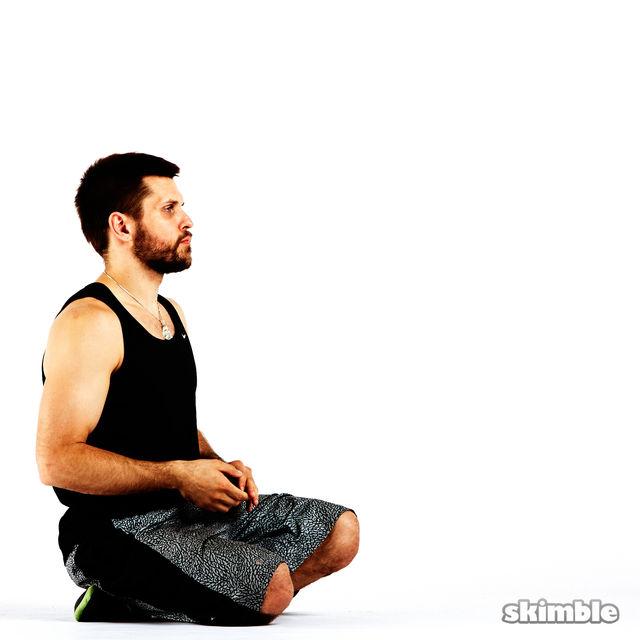 How to do: Underhand Wrist Flexor Stretches - Step 1