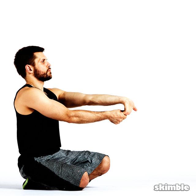 How to do: Underhand Wrist Flexor Stretches - Step 4