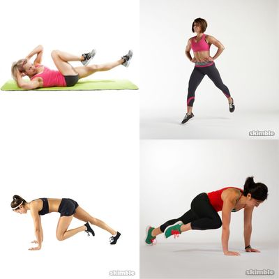 HIIT workouts under 20 min