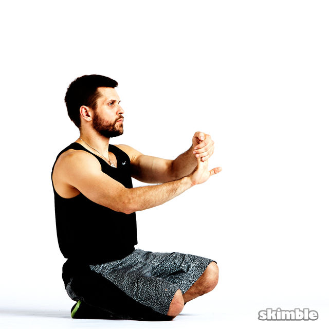 How to do: Wrist Flexor Stretches - Step 4