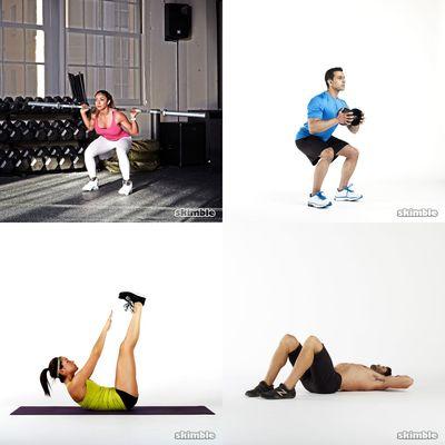 Derek's bootilicious workout