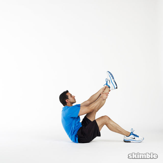 How to do: Left Leg Climbs - Step 3