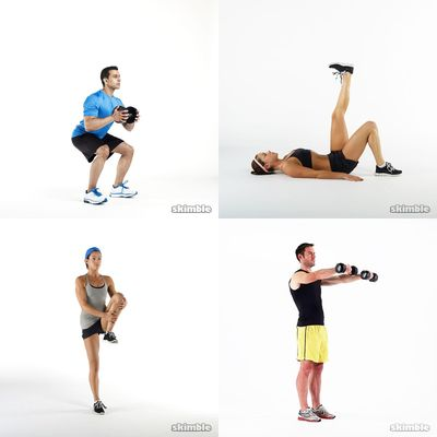 short weekly workout