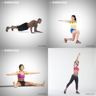 Kim's workout