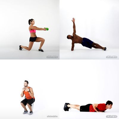 Ćwiczenia z Workout
