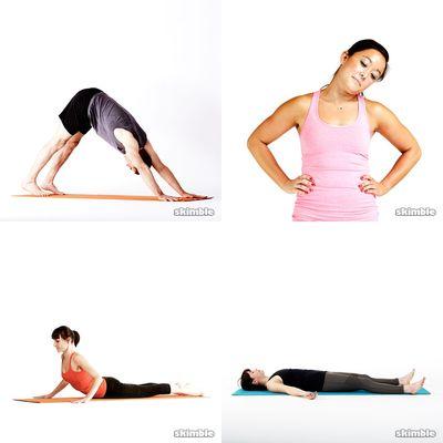 Along (ombros e pescoço) e Yoga 28